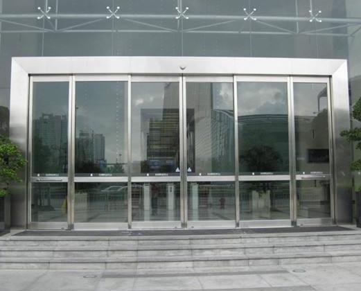 张家港玻璃感应门维修