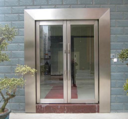 张家港玻璃门